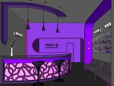 Interior Design for Company 3 (Internet Service Provider)