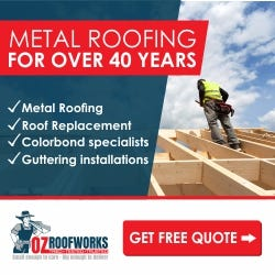 Web banners for OZ Roofworks