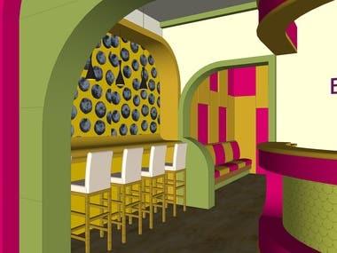 Coffee Shop's Interior Design