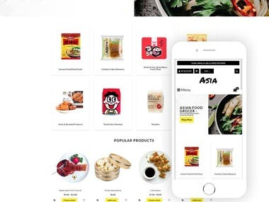 Food Online Store