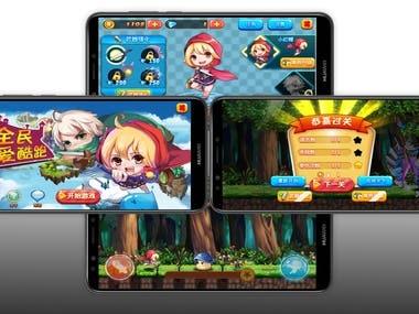 2D running Game