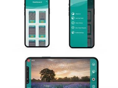 ui -uxfor recording app