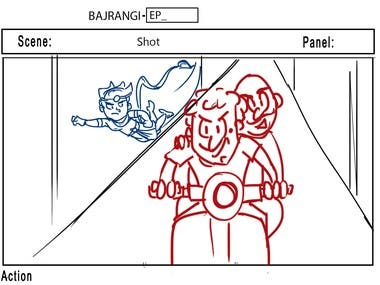 Storyboards and Comics