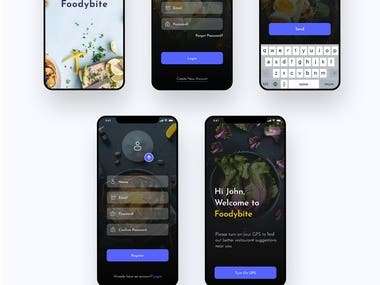 Foodybite App