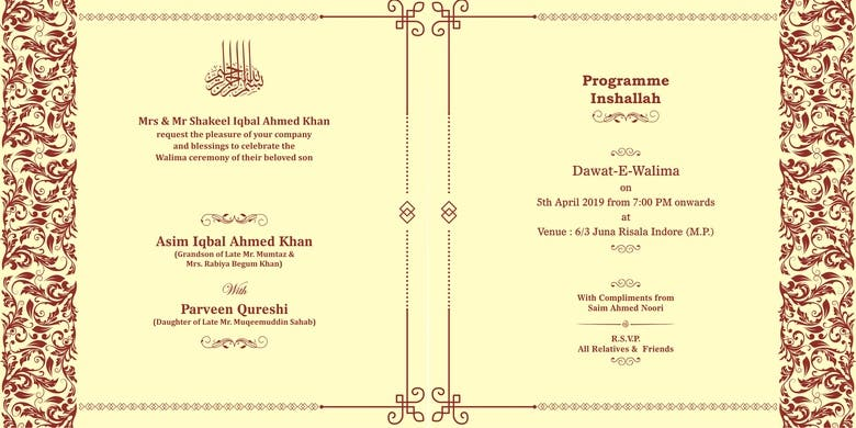 Wedding Invitation Freelancer