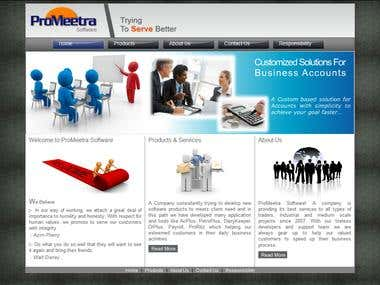 ProMeetra software website