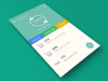 My Accountant Mobile App