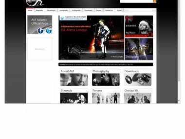 - Built Website in ASP, jQuery, Silverlight & CSS3\n- Develo