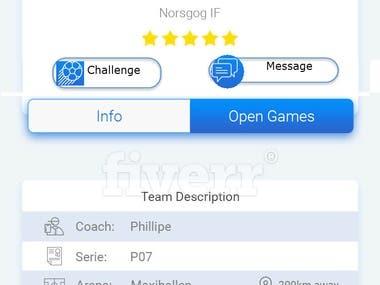 Footbal App