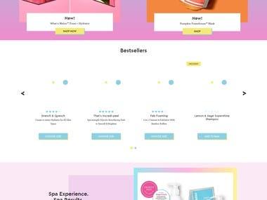 Bigcommerce (Ecommerce Website) BlissWorld