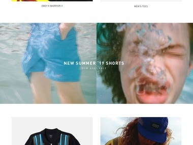 ObeyClothing Shopify ( Ecommerce Website )