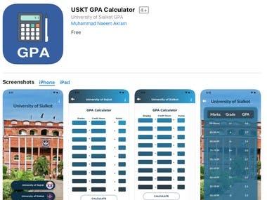 USKT GPA Calculator (Owner MNA Developer)