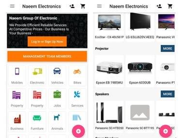Naeem Electronics App