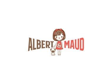 Albert & Maud Logo