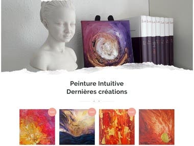 Karuna Spirit (personalized online shop for painting)