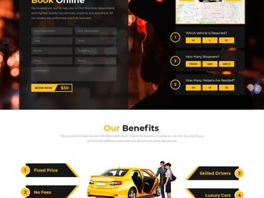 Website Design For Taxi Company