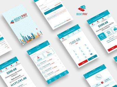 BoxyPay App (Money Transfer app)