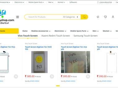High Quality Multi-Vendor E-commerce Website