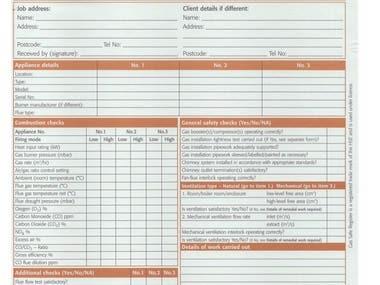 Digital form from PDF