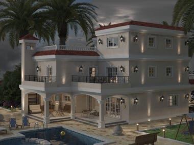 Classic villa project