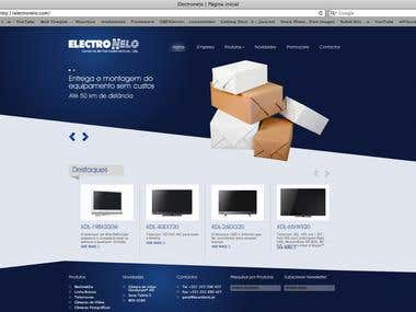 Electronelo WebSite