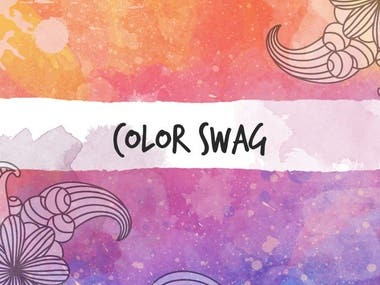 Color Swag - Coloring Book