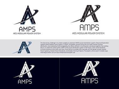 NASA AMPS LOGO