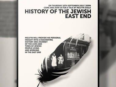 Jewish Event Poster