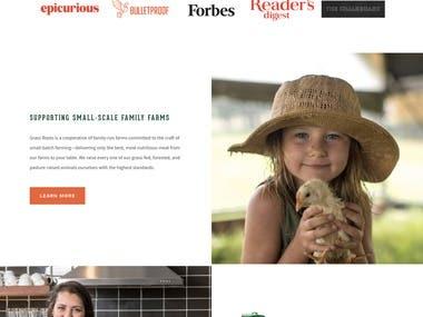 Wordpress | Grass Roots Farmers (grassrootscoop.com)