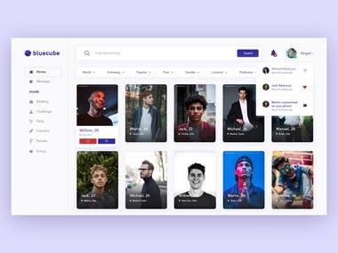 Bluecube - Social Media Platform
