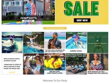 Shopify E-Commerce Shop