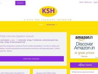 KSH Tutor A Site for Scholars