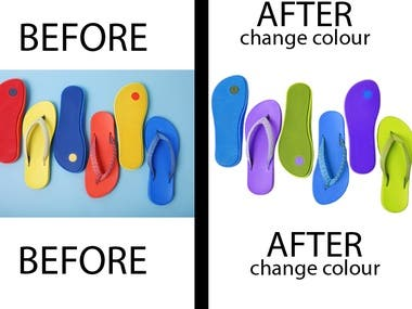 Photo color change