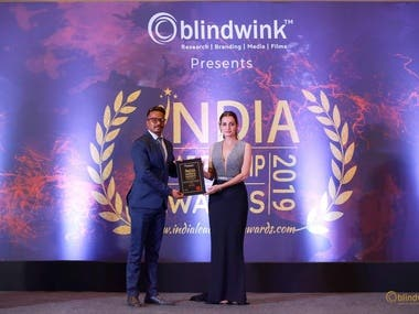 India Leadership Award for Best Ad Software Development