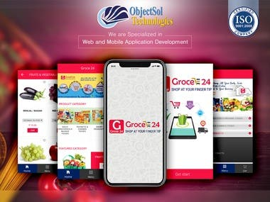 Groce 24 Food & Grocery Mobile App