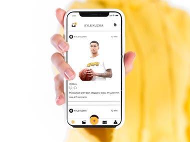 KyleKuzma - Celebrity Social App