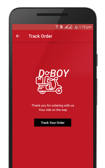DBoy - UberEats or Deliveroo Similar concept