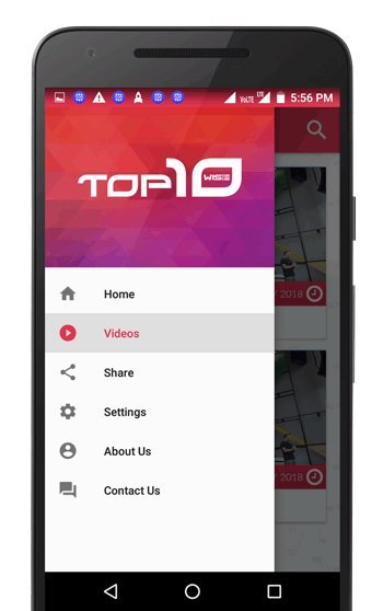 Top10Wise - News App