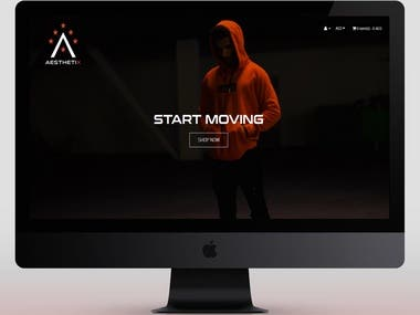 AxClothes - Ecommerce Website