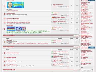 Vbulletin forum  work aS  a admin