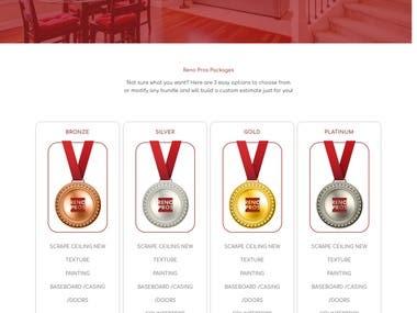 Home Improvement company Wordpress Site
