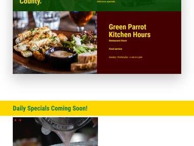 https://greenparrotrestaurant.com/