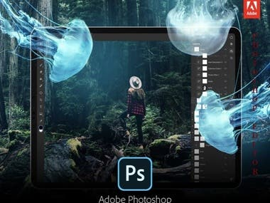 Graphic Designing and Photoshop Editing