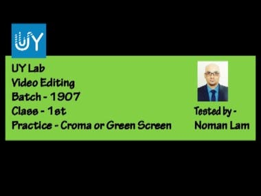 Croma or Green Screen Motion