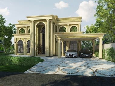 9000 sq.ft house