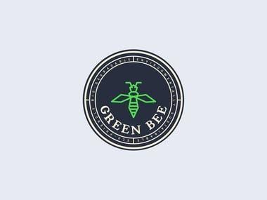 Green Bee Logo