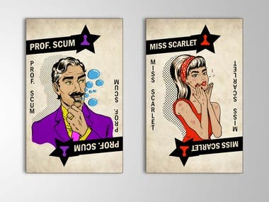 Cards Illustrations