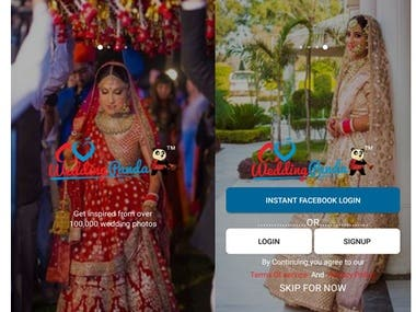 Wedding panda Android App