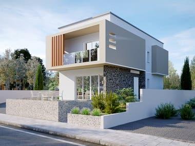 Design ad 3D Rendering of Apartments