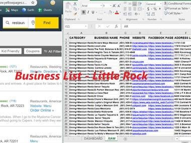 Business List - Little Rock (USA)
